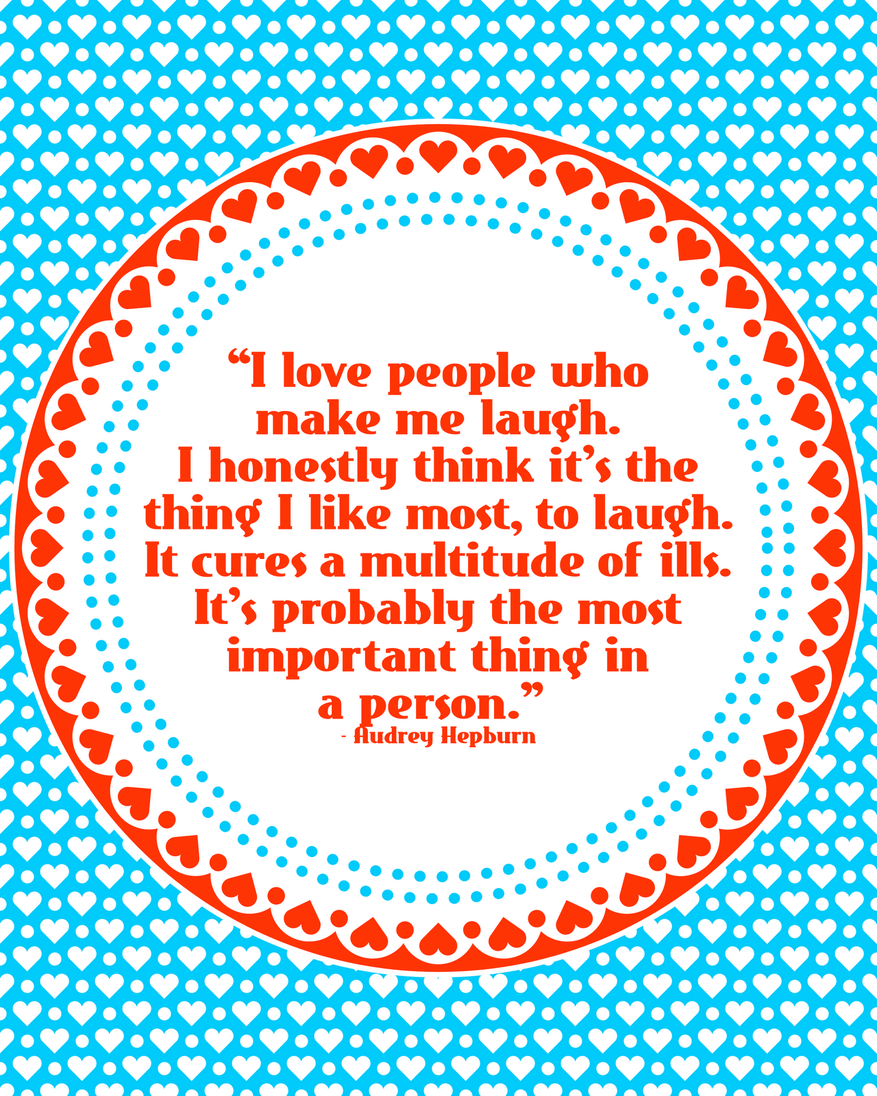 Printable Quote about LaughterQuotes About Laughter