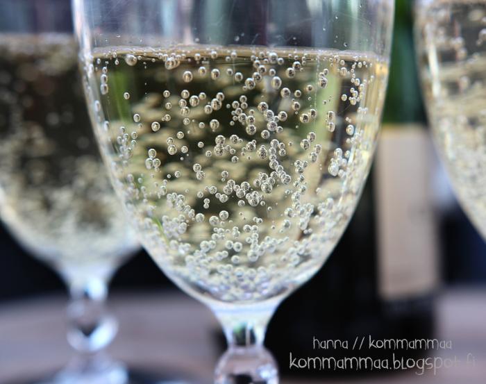 kuohuva juoma kupliva vesi kaloille juhla kesä
