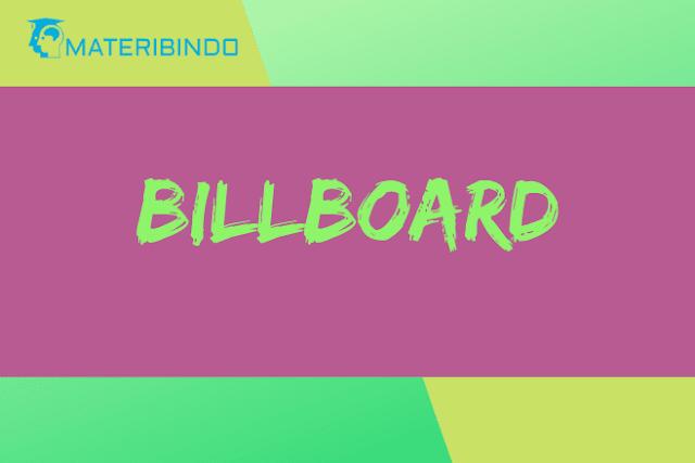 Pengertian Billboard: Ukuran, Fungsi, Ciri, Contoh