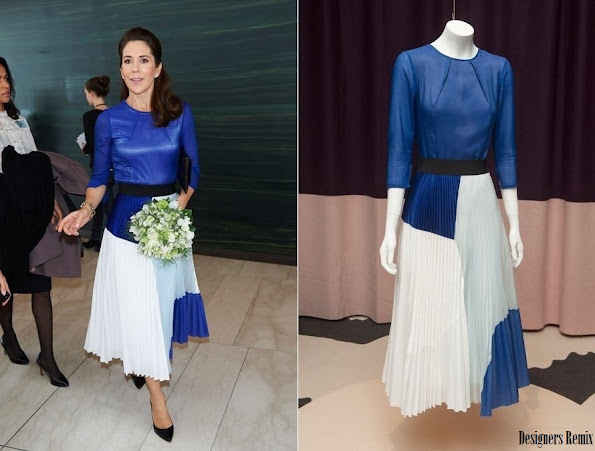 Crown Princess Mary-wore Designers Remix Skirt