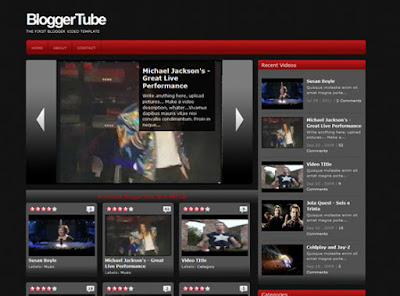 Blogger TUBE Template