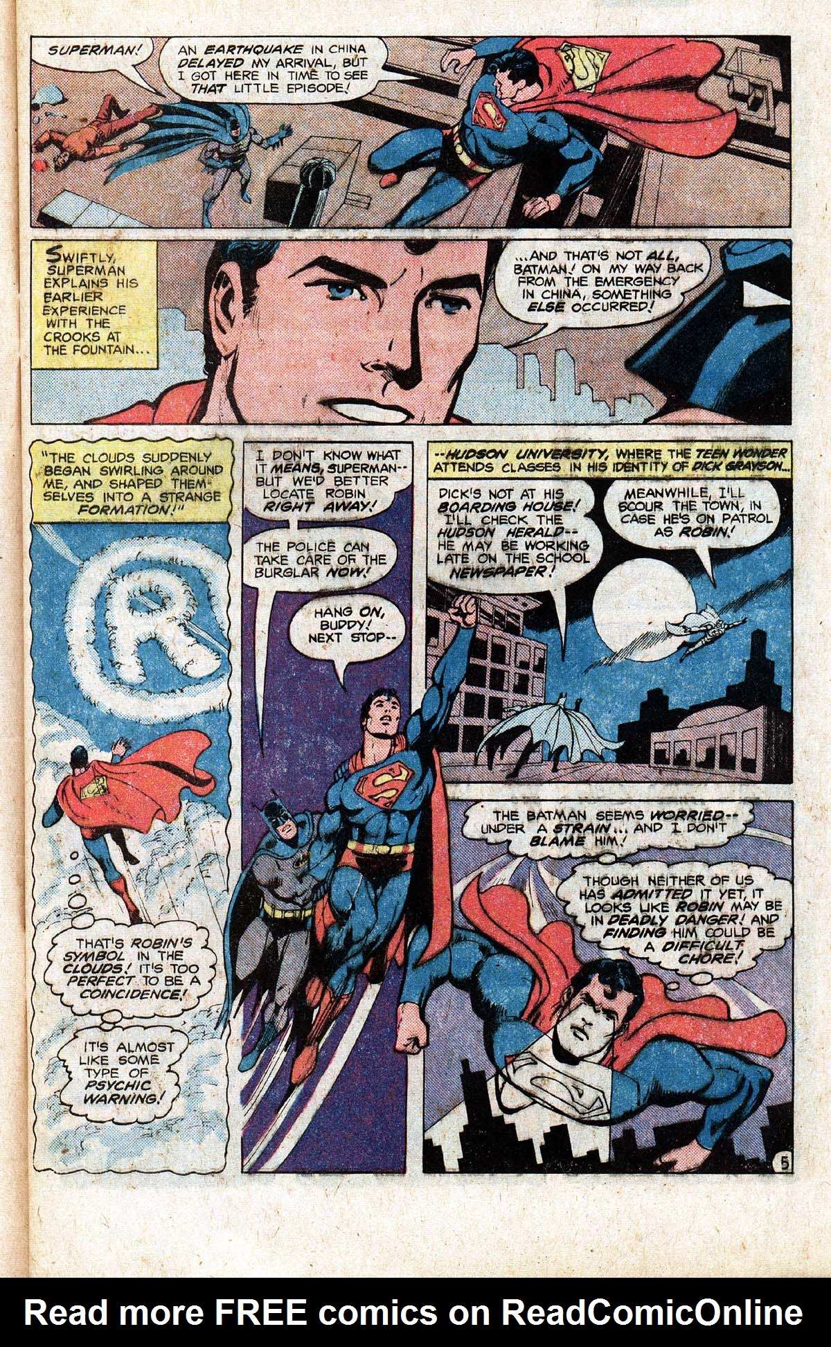 Read online World's Finest Comics comic -  Issue #265 - 7