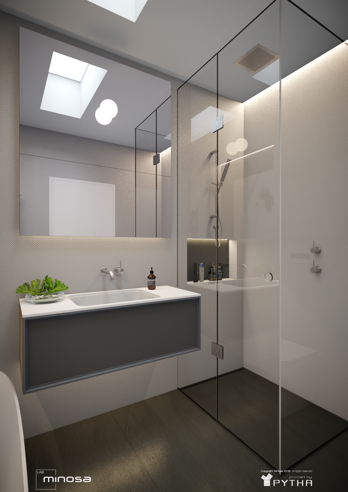 Minosa new minosa bathroom design resort style ensuite - Small Space Big On Style By Minosa