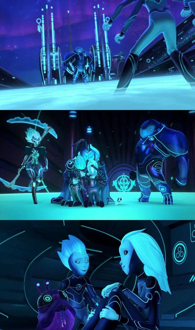 Los 3 de abajo Relatos de Arcadia Temporada 1 Completa HD 720p Latino Dual