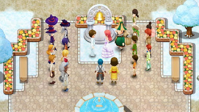 Wedding in Harvest Moon: Light of Hope