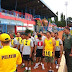 TNI dan PNS Kodim 0615/Kuningan di Tes Samapta Jasmani Periodik
