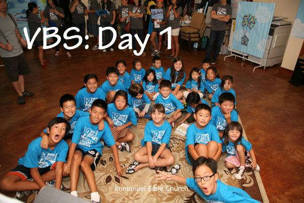VBS: Day 1 | Immanuel Bible Church