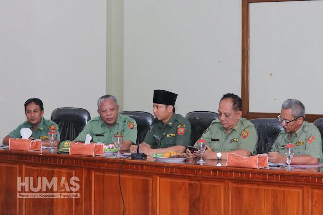 Bertemu Para Kades, Cak Ipin Sinkronkan Program Kabupaten dan Desa