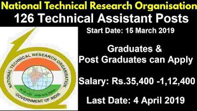 NTRO Recruitment 2019