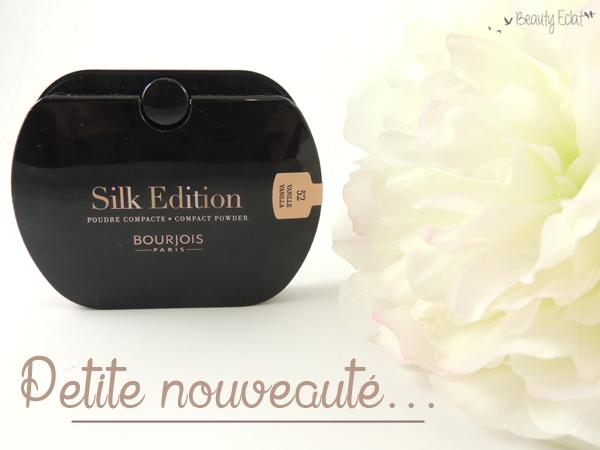 revue avis test bourjois poudre silk edition
