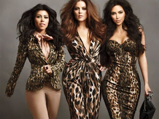 Khloe, Kourtney & Kim Kardashian, Leopard Print, Kardashian Kollection at Dorothy Perkins