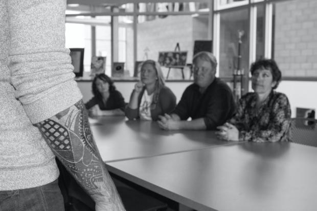 Anjatattoo Tatuaż W Pracy