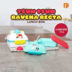 Tsum Tsum Ravena Recta Lunch Box