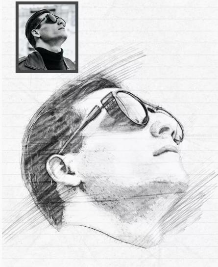 Pencil sketch action photoshop cs6 free download | Pencil