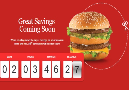 Mcdonalds Great Savings Coupons