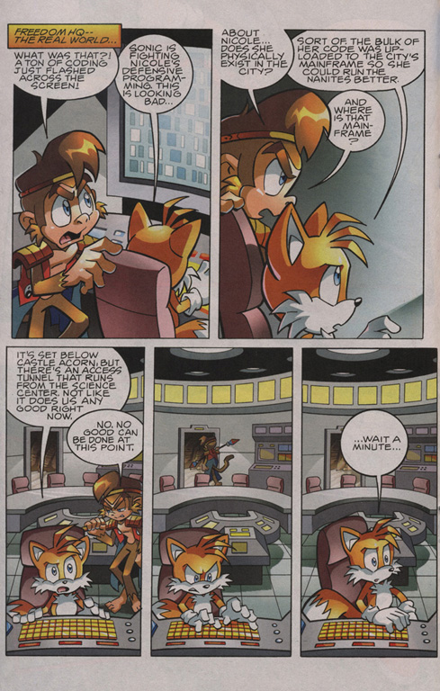 Read online Sonic The Hedgehog comic -  Issue #209 - 14