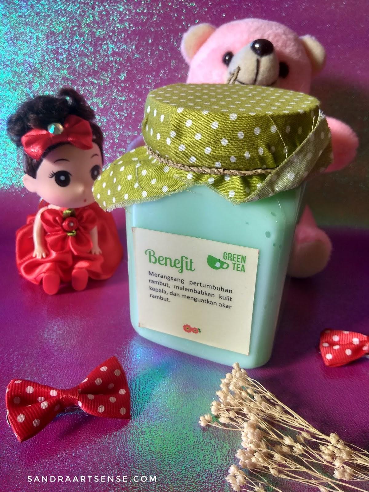 Sandraartsense Com Review Juliet Homemade Hair Mask Green Tea Perawatan Alami Untuk Rambut Rontok