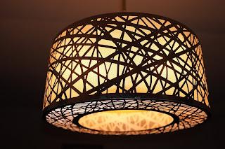 bambu untuk membuat lampu hias