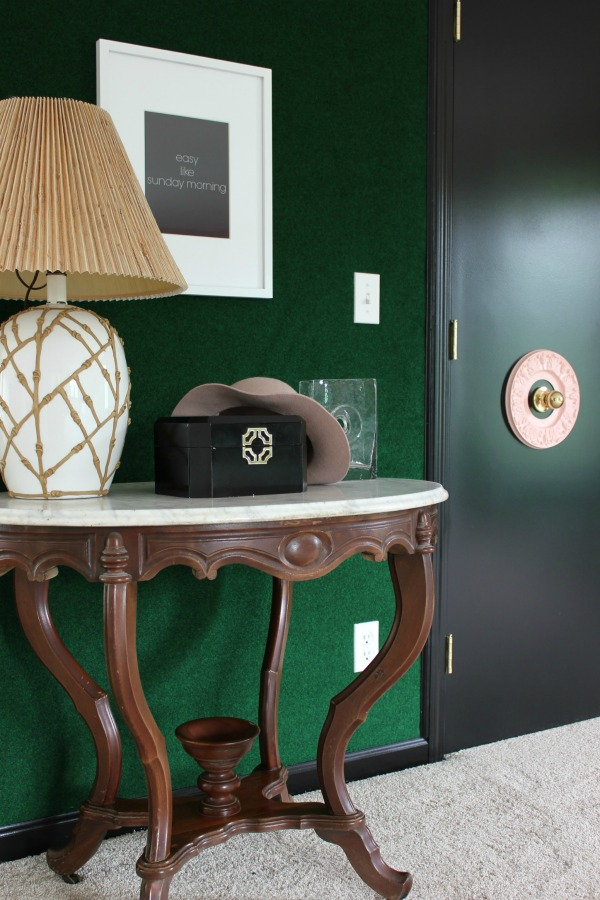 Why choosing to use black interior doors in your home can make your space feel brighter and more chic in any room of your home.   via MonicaWantsIt.com