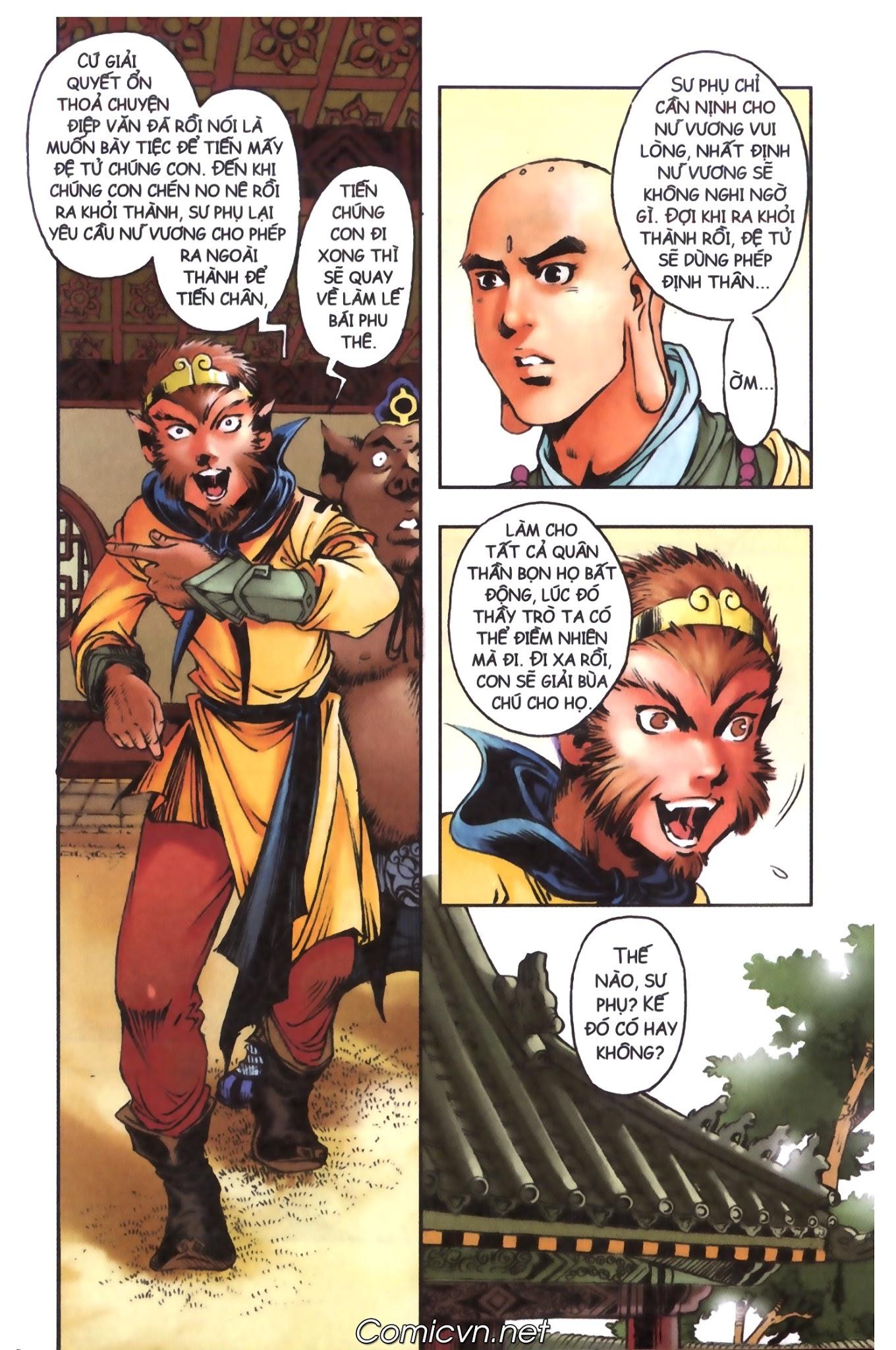 Tây Du Ký màu - Chapter 98 - Pic 10