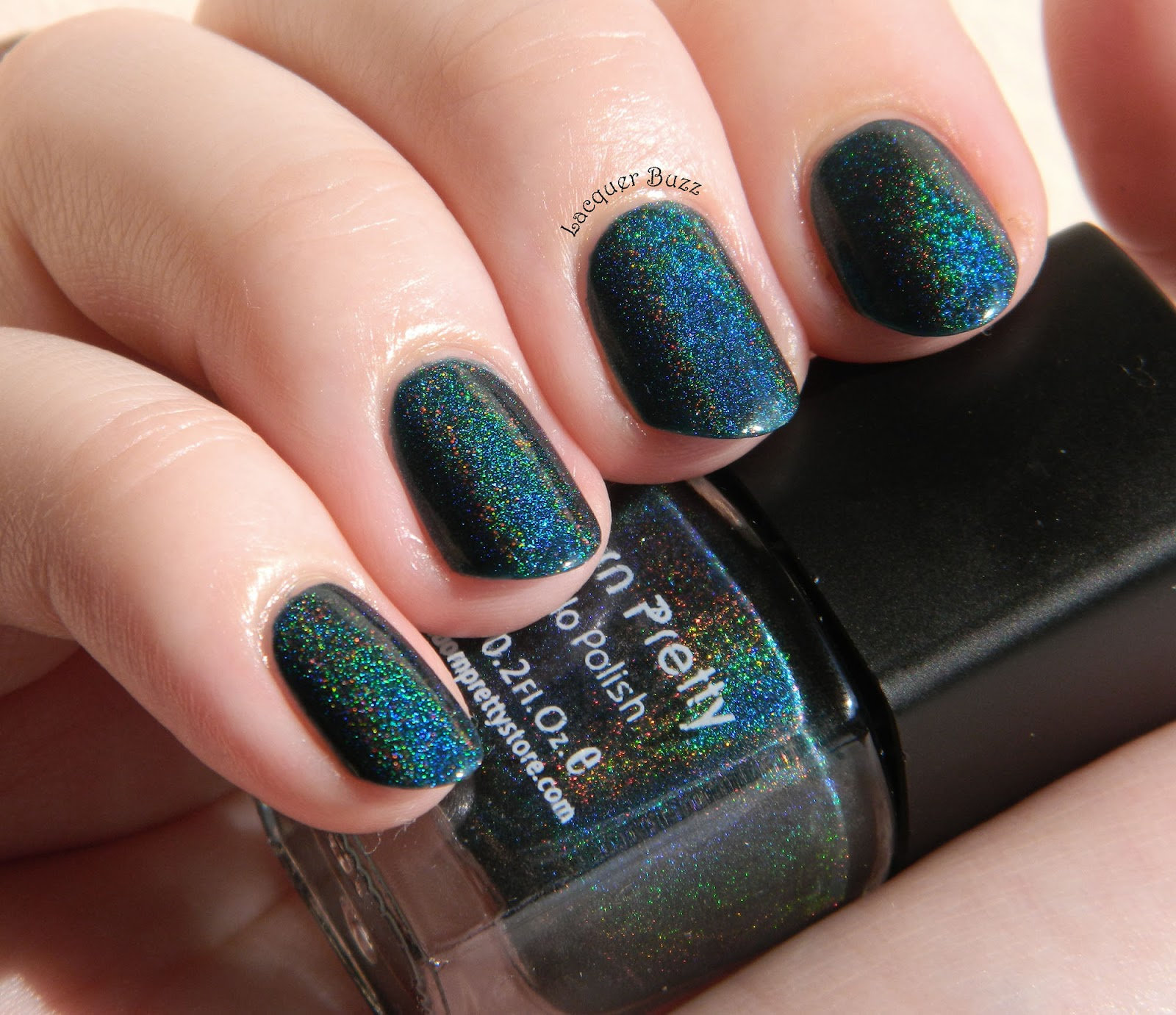 Lacquer Buzz Born Pretty Store Holographic Nail Polish Review