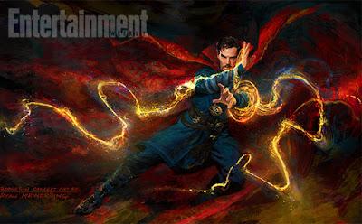 Nuevo diseño de arte conceptual de 'Doctor Strange'