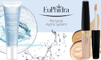 Logo Diventa tester Correttore Fluido e Personal Hydra System Contorno Occhi Luce Blu EuPhidra