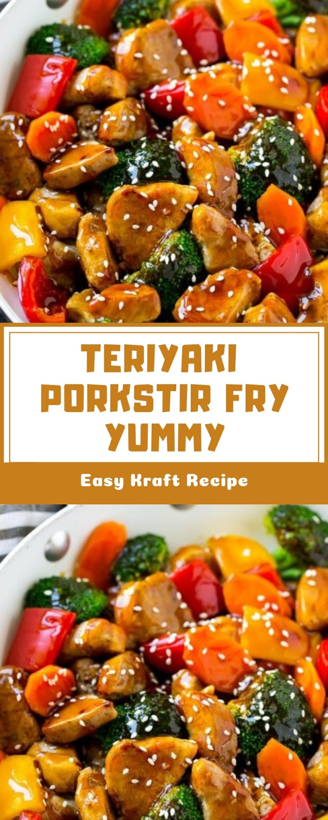 TERIYAKI PORK STIR FRY YUMMY