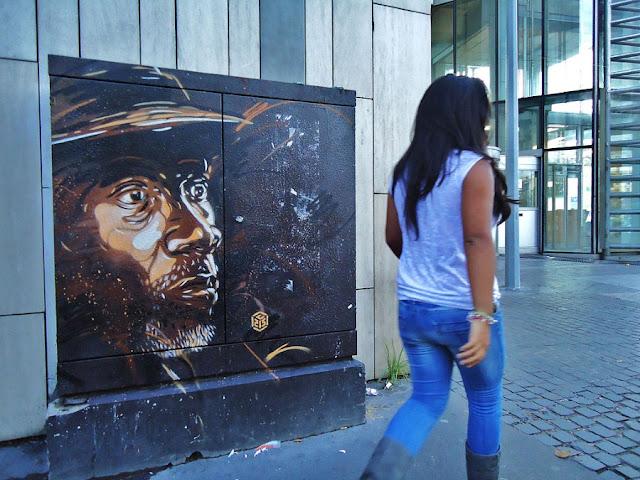 Уличное искусство Кристиана Гуеми (Christian Guémy aka C215) 33