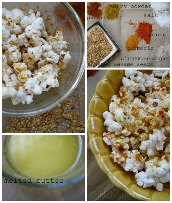 Popcorn (stove-top or microwave)