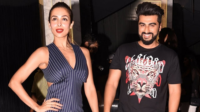 Arjun Kapoor and Malaika Arora return to Mumbai