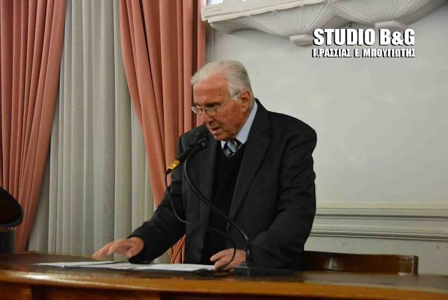 Γ. Μανιάτης: Ο Δημήτρης Παπανικολάου μεταρρυθμιστής του Αργους