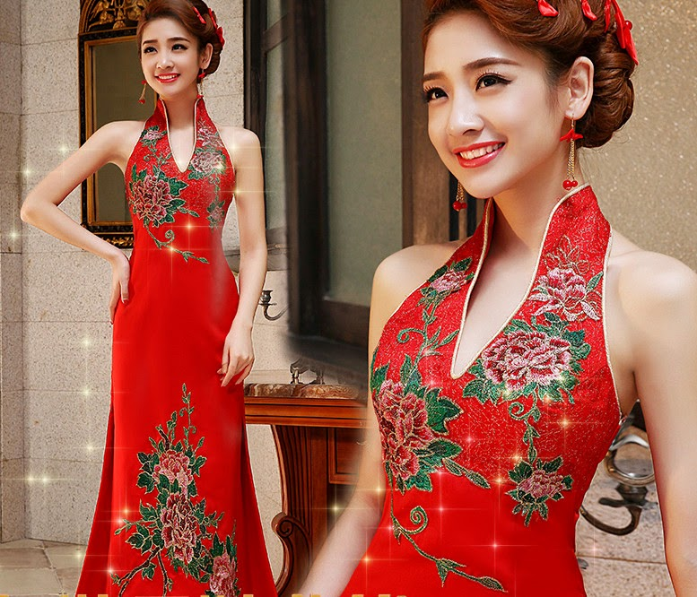 Wedding Gown Malaysia: Sexy Backless Modern Cheongsam Dress :: My Gown Dress