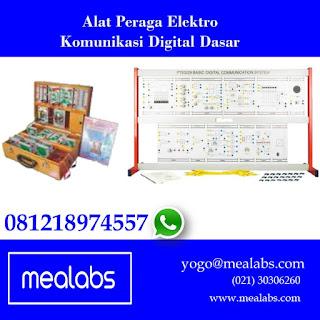 Alat Peraga Elektro Komunikasi Digital