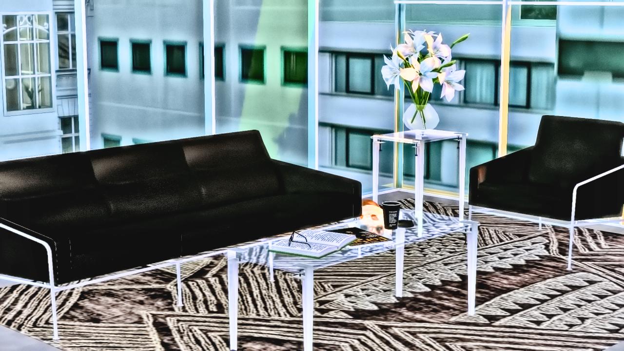 My sims 4 blog arne jacobsen s series 3300 3303m tables for Living room 4x3