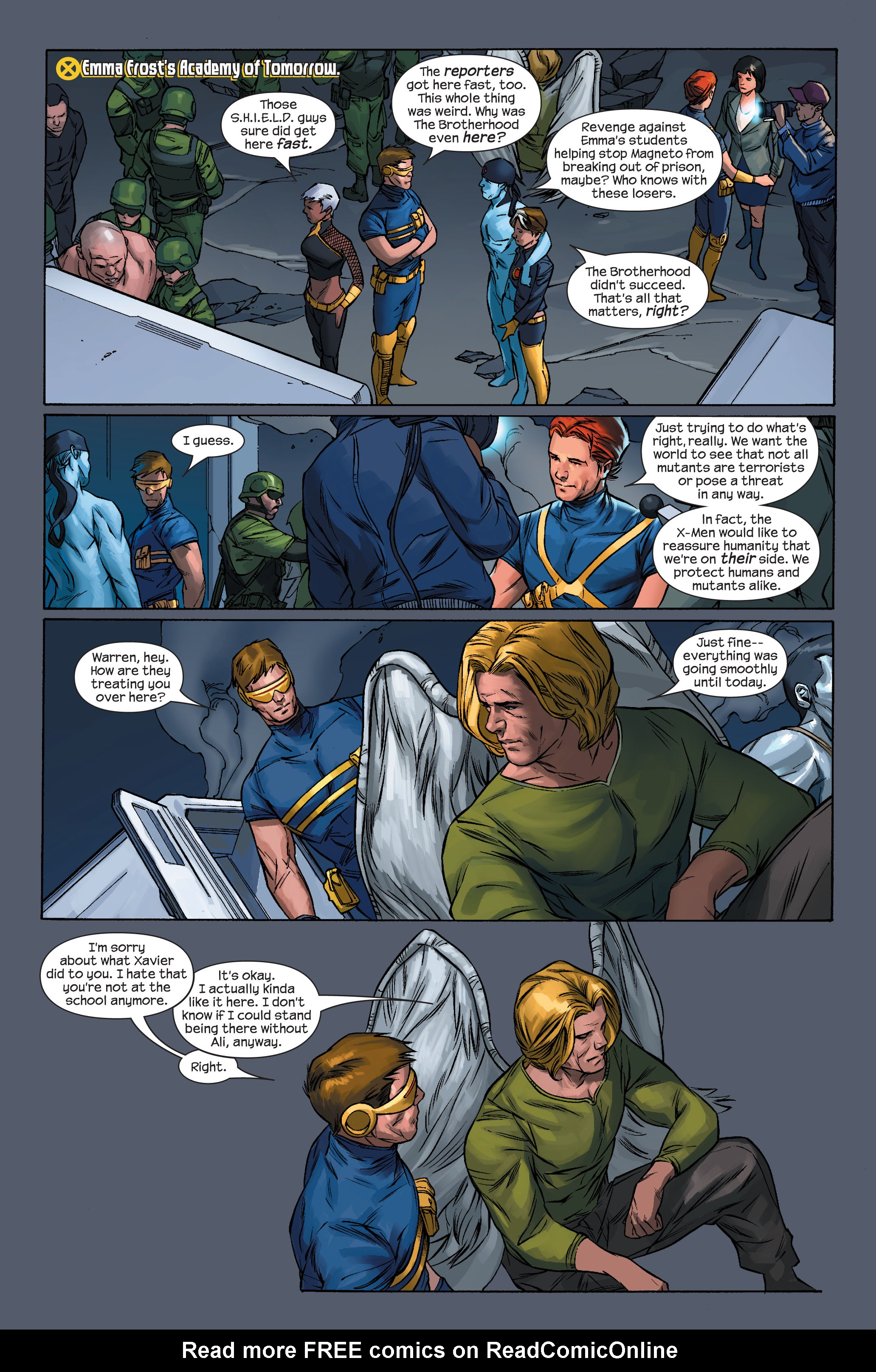 Read online Ultimate X-Men comic -  Issue #71 - 15