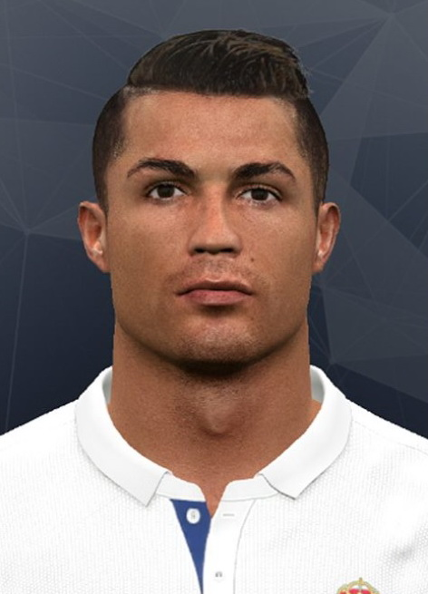PES 2017 CR7 Face by JuanM' Facemaker