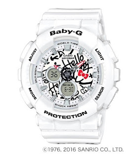 Casio Baby-G BA-120KT-7A HELLO KITTY