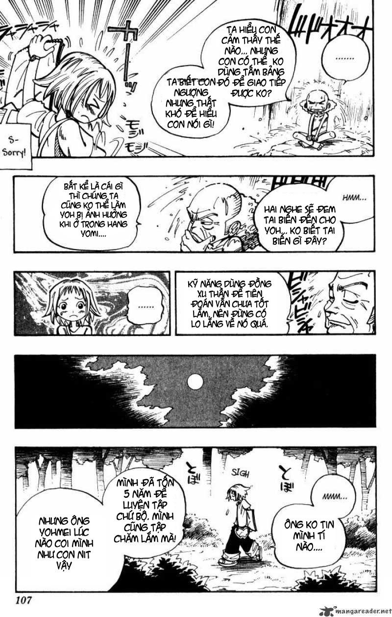 Shaman King [Vua pháp thuật] chap 49 trang 18