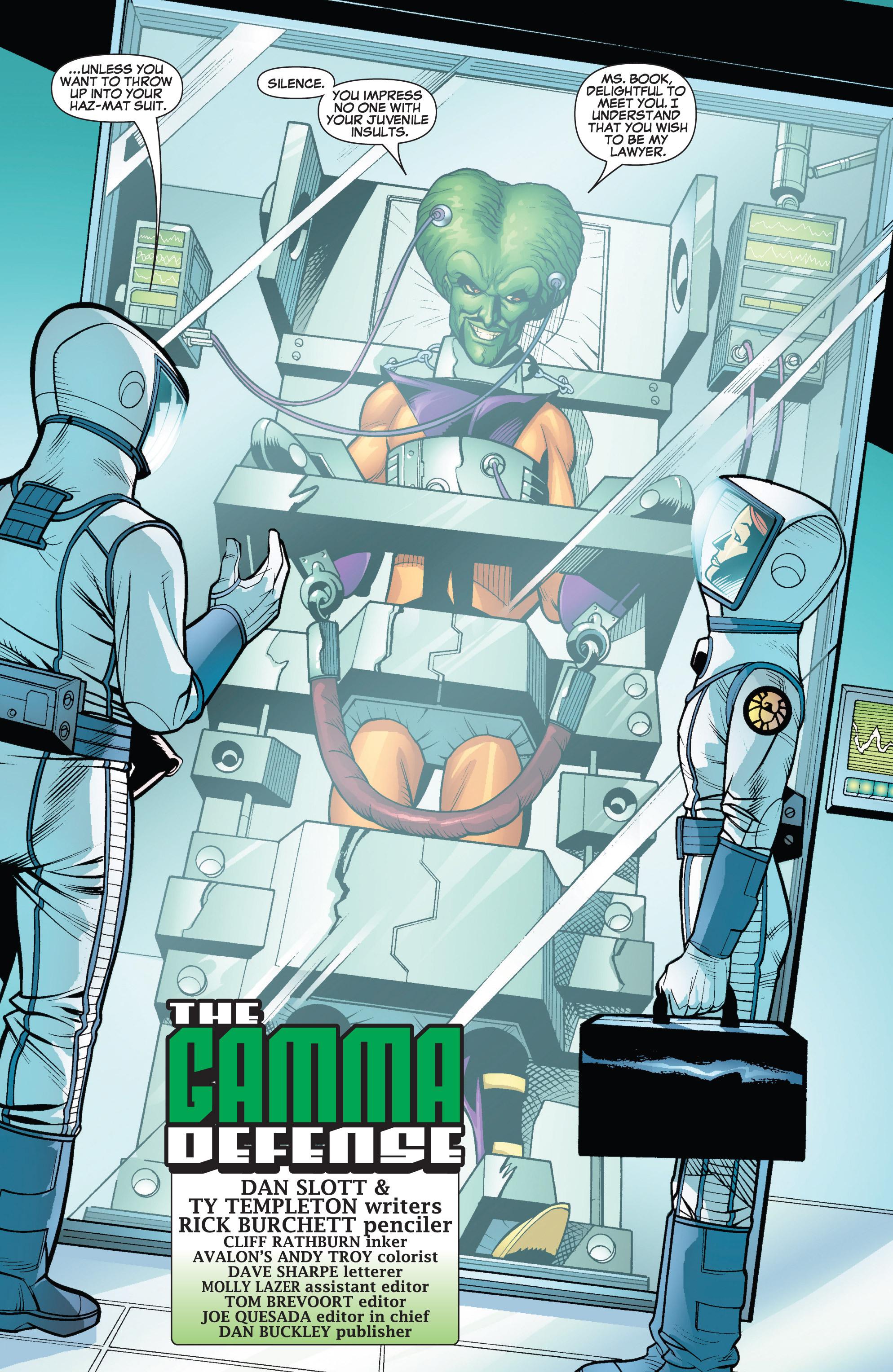 Read online She-Hulk (2005) comic -  Issue #19 - 5