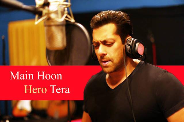 Main Hoon Hero Tera Tabs - Salman Khan