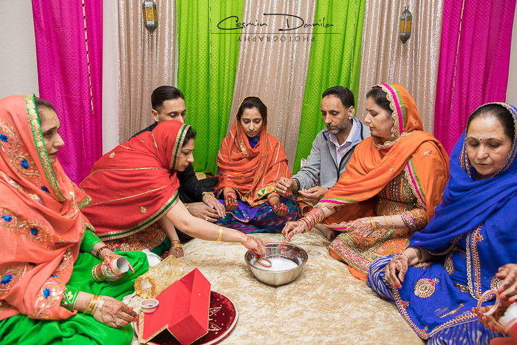 The Bangles Go Through Milk And A Lot Of Hands Before Going Onto Brides Arms