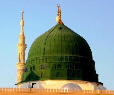 Rindu Masjid Ada Apa Dengan Kubah Hijau Masjid Nabawi
