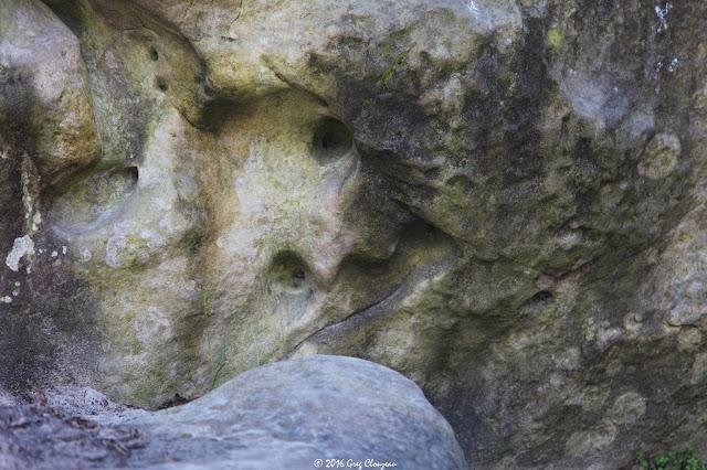 Le gros oeil, Roche aux Sabots, Trois Pignons, (C) 2016 Greg Clouzeau