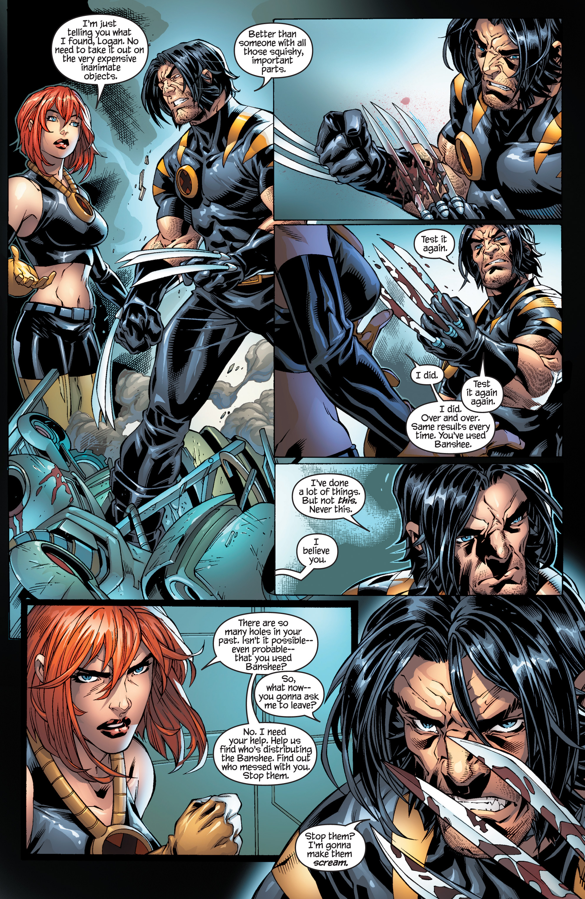 Read online Ultimate X-Men comic -  Issue #95 - 11