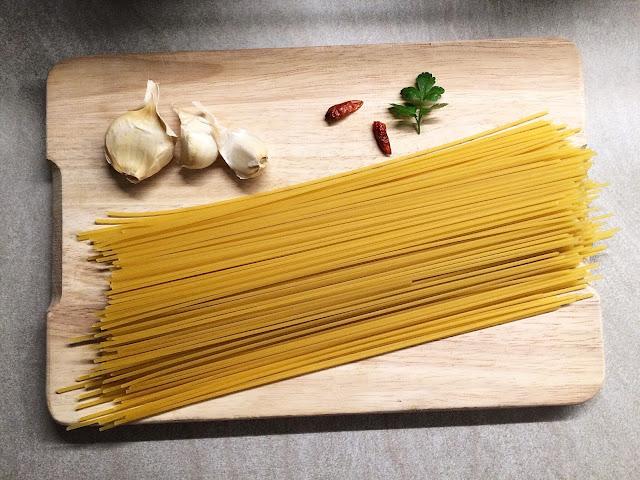 Włoskie smaki, czyli spaghetti aglio olio peperoncino