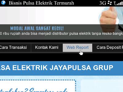 Web Report Bekasi cell