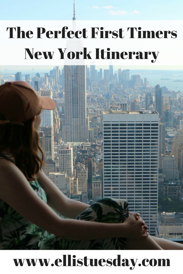 first timers new york itinerary