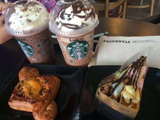Celebrated Birthday di Starbucks