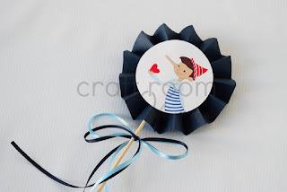 στικ-διακοσμηση-βαπτιση-τραπεζι-χειροποιητο-πινοκιο-καρδια-κοκκινο-μπλε